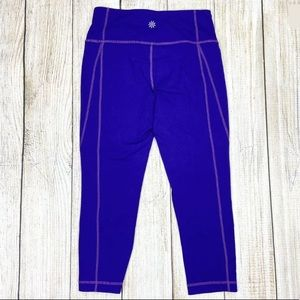 ATHLETA Purple Revelation Capri Compression Pants